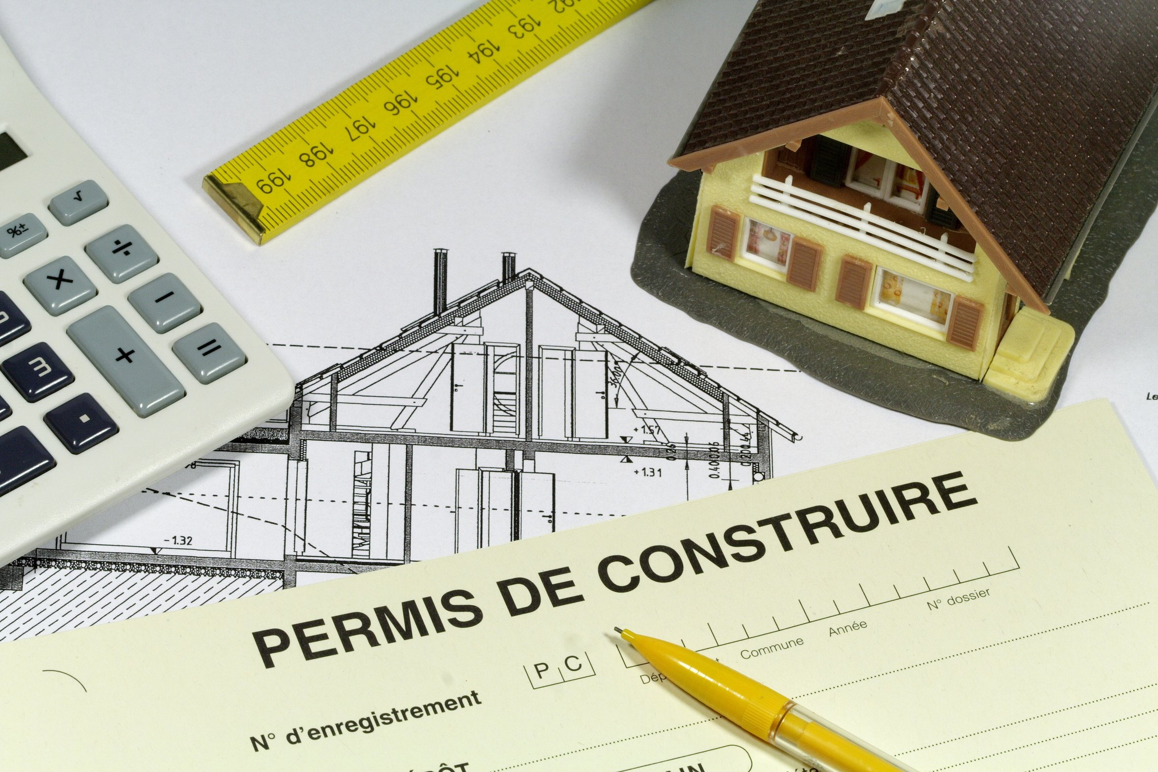 Architecture construction permis de construire au s n gal for Superficie permis de construire